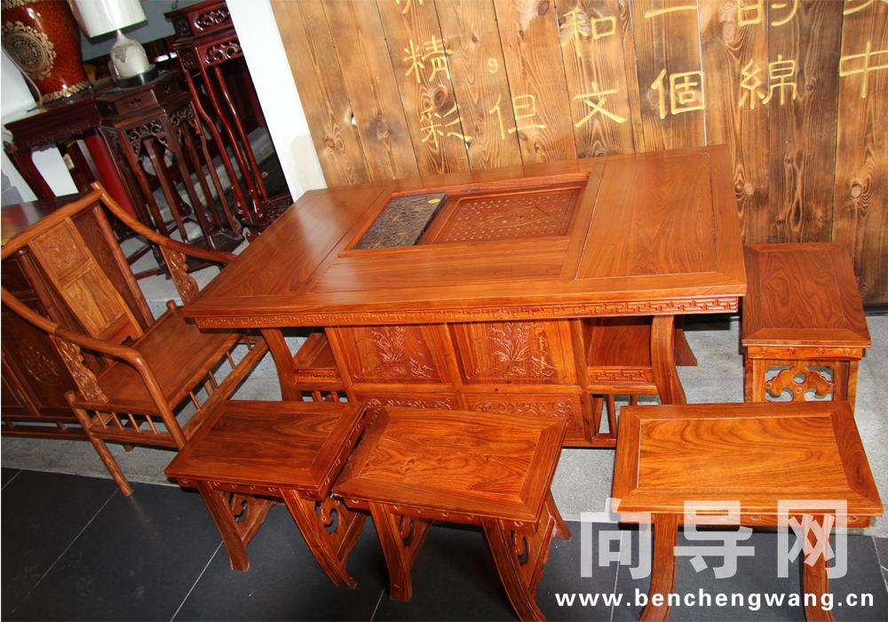 中国传统古典红木家具流派中