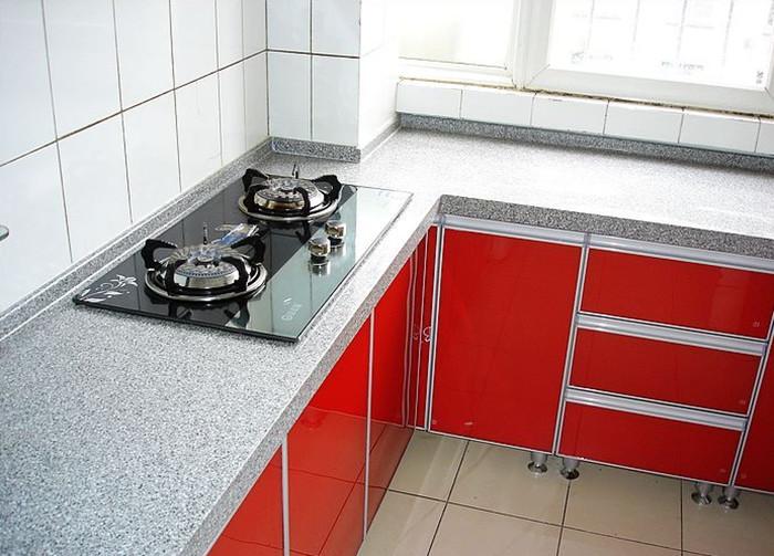 大理石厨房灶台