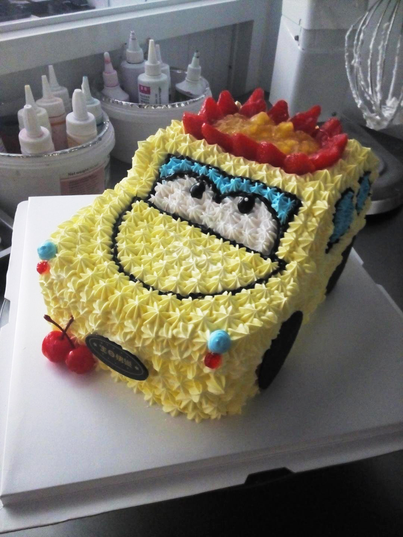 水果汽车蛋糕10寸