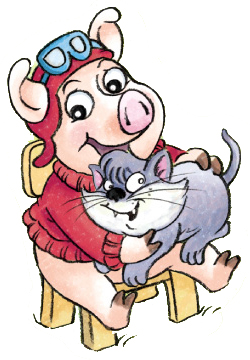 派乐多英语标准卡通人物