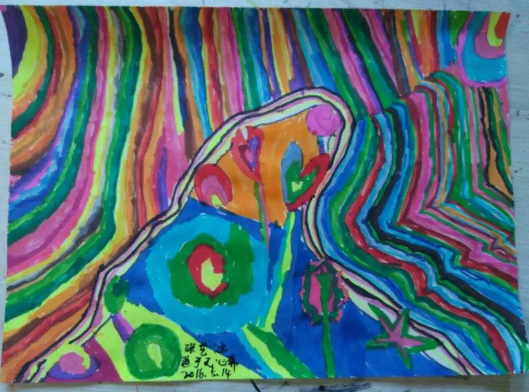 无心斋童画之创意色彩装饰画