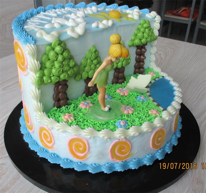 卡通小叮当双层蛋糕
