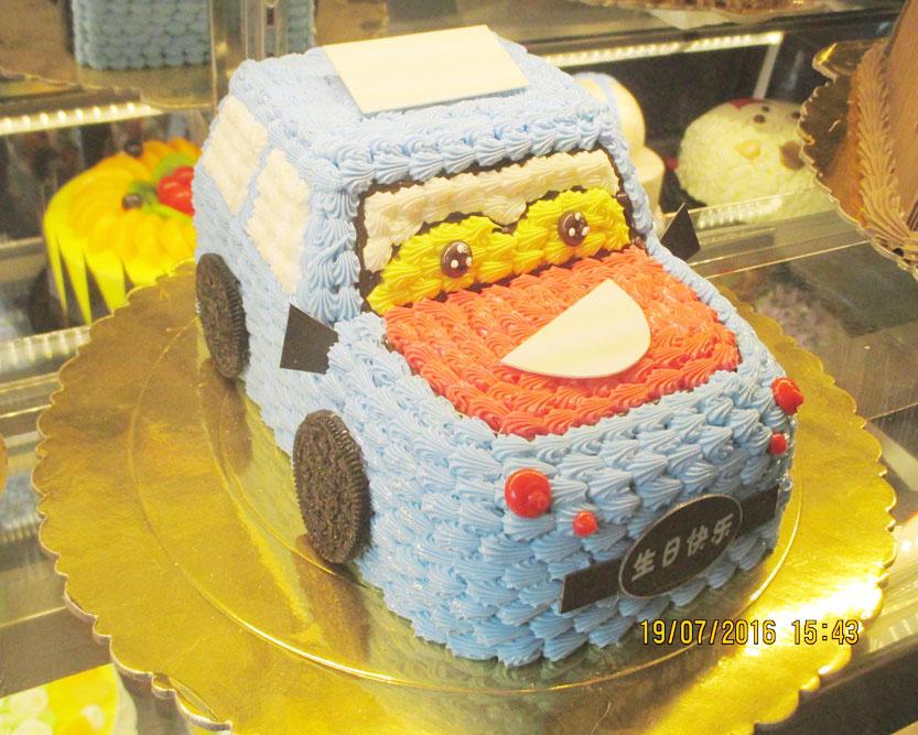 可爱儿童蛋糕
