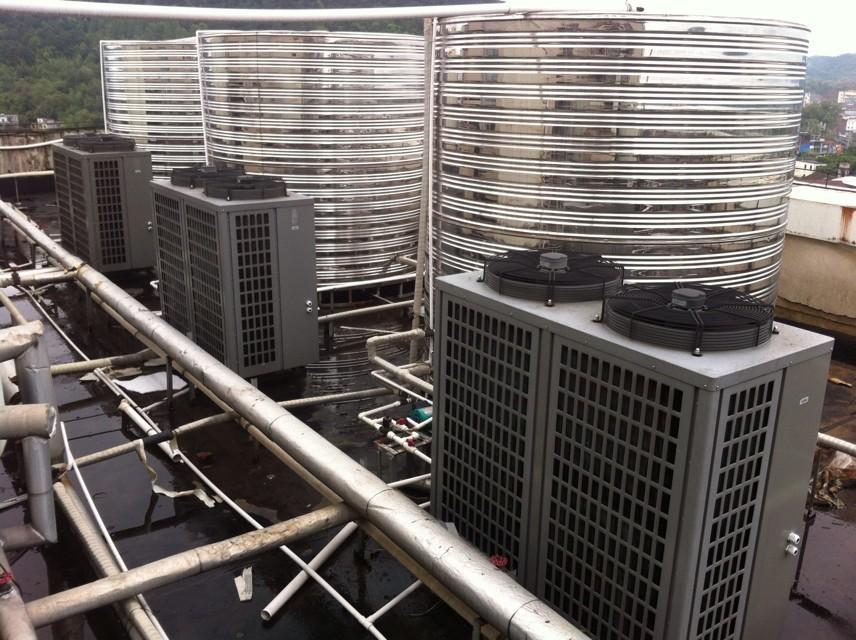 清华王牌太阳能空气能热水器家用机